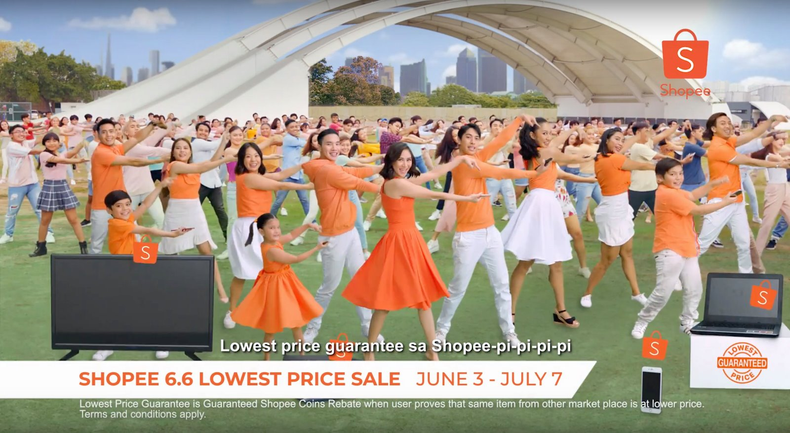 Shopee debuts television commercial with Sarah Geronimo for Shopee 6.6 - 7.7 Lowest Price Sale