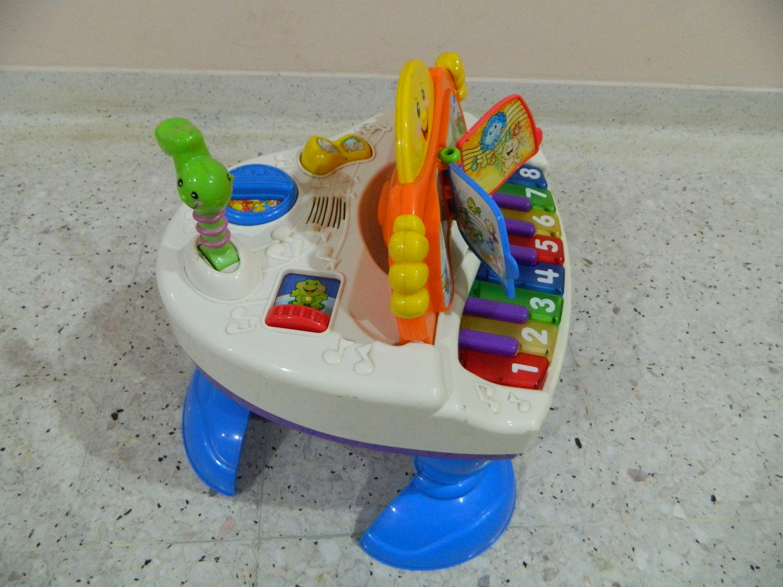 Save On Toys Fisher Price Interactive Baby Grand Piano