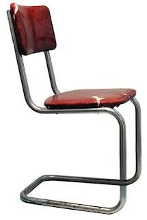 ilginç eski sandalye