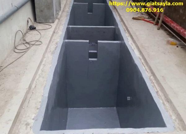 Hệ thống bể xử lý nước thải cho xưởng giặt công suất lớn