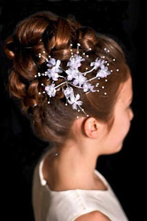 Stunning Updo Hairstyles for Flower Girls