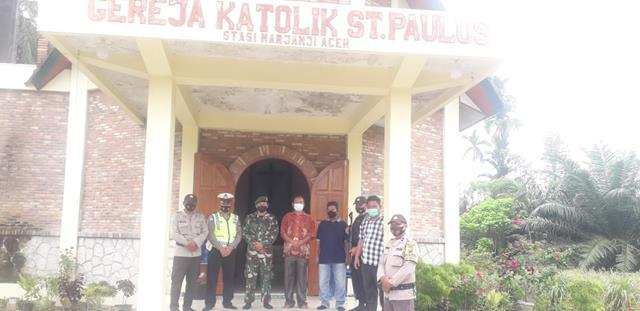 Perayaan Paskah, Personel Jajaran Kodim 0208/Asahan dan Babinkamtibnas Patroli di Beberapa Gereja
