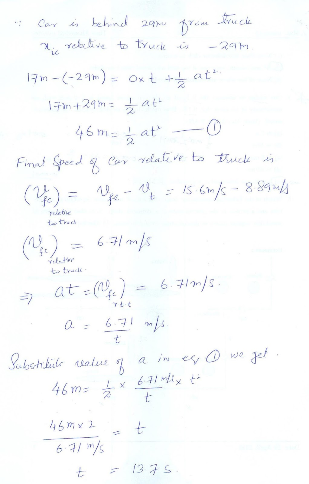 Solution Manual of Physics and Maths: August 2013