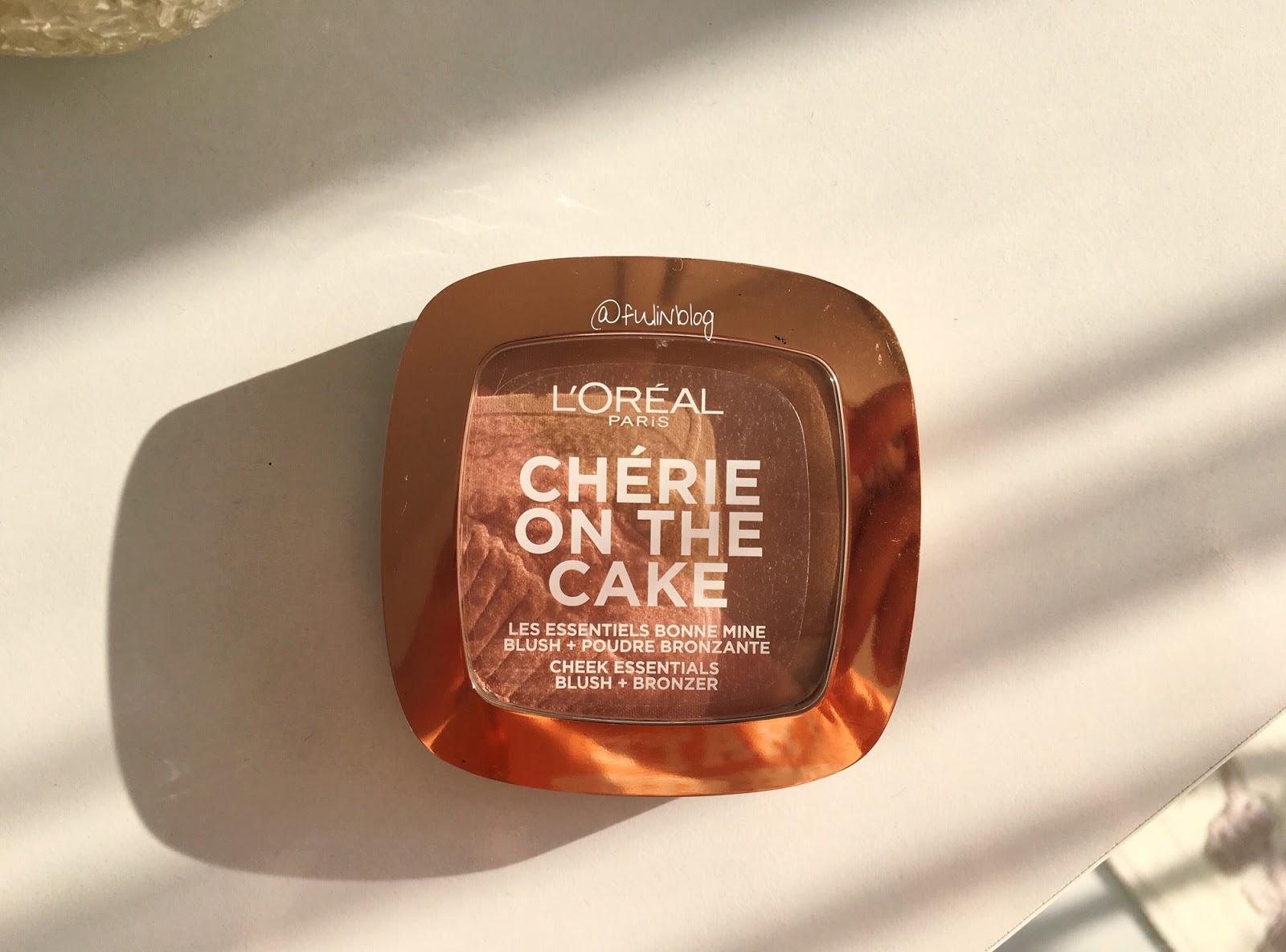 loreal cherie on the cake allık bronzer