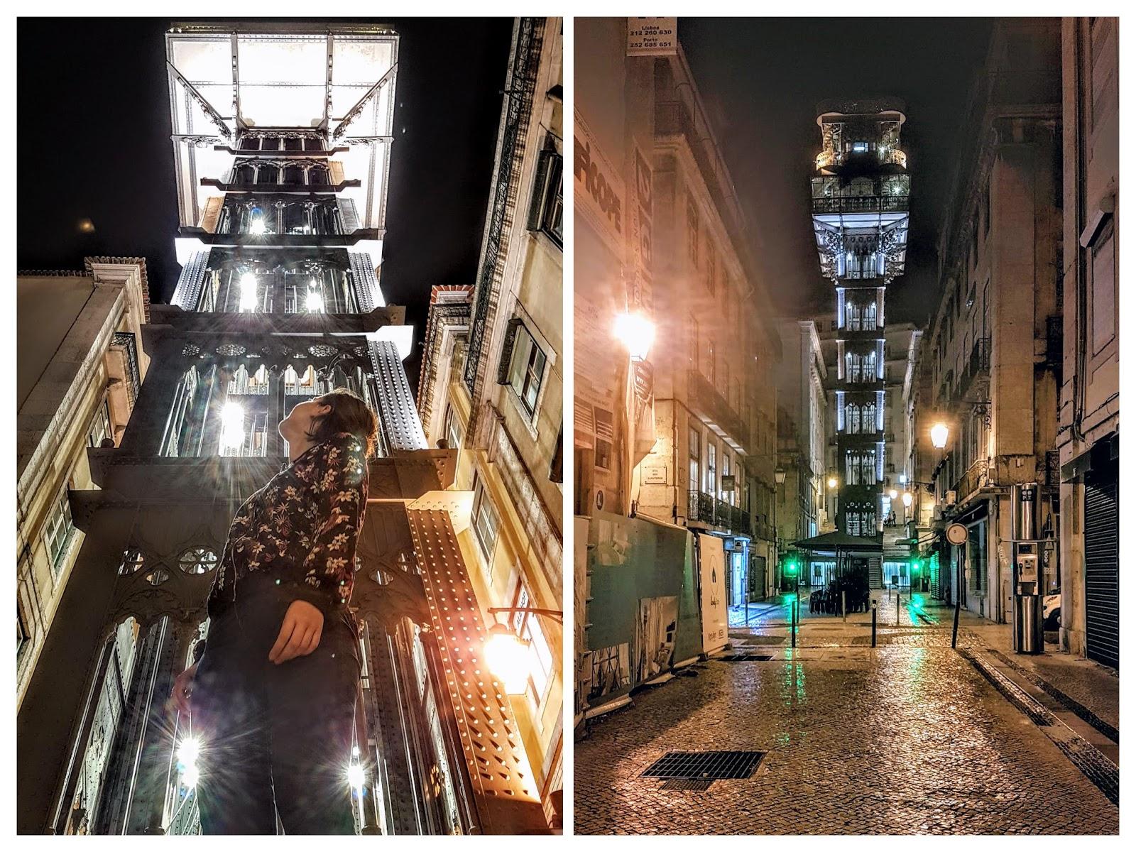 Santa Justa Lizbona