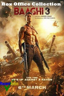 Baaghi 3 Bollywood Movie Box Office Collection