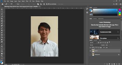 cara edit pas foto