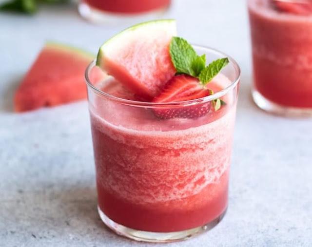 Frozen Rosé Wine Slushies #summer #drinks
