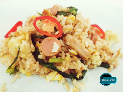 Nasi goreng black pepper