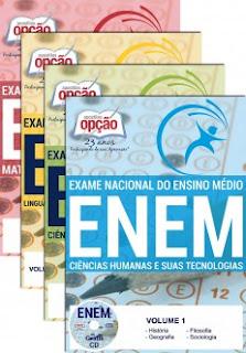 Apostila para o ENEM - Exame Nacional do Ensino Médio.