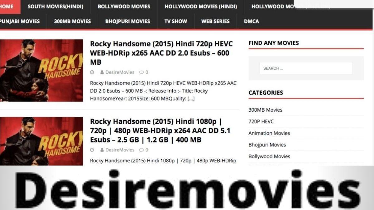 DesireMovies 2020 - DesireMovies Download Latest HD Movies online, DesireMovies Illegal Movies Website