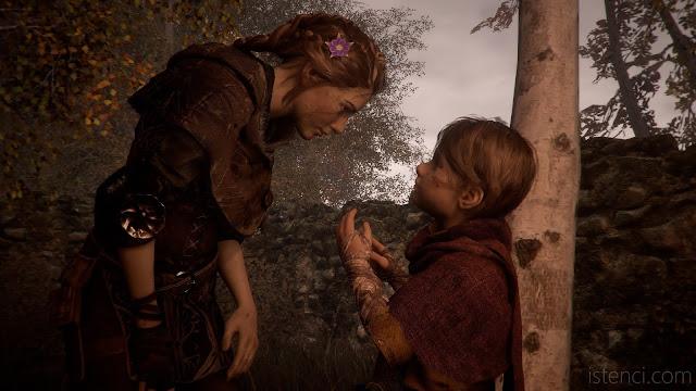 A Plague Tale: Innocence - Amicia Hugo ile konuşuyor.