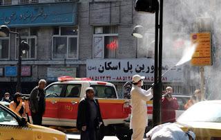 Kematian Akibat Virus Korona di Negara Syiah Iran Melonjak Jadi 1.135