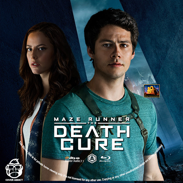 Maze Runner: The Death Cure Bluray Label