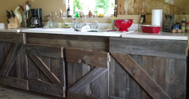 I Made That Myself Barn Wood Kitchen Cabinets