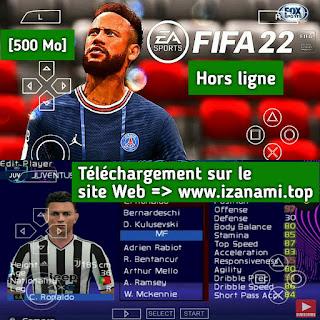Comment télécharger FIFA 22 PPSSPP Camera PS5 Android hors ligne Meilleurs graphismes Nouveaux kits de visage 21/22 et derniers transferts