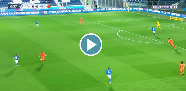 Italy vs Netherlands Live Score