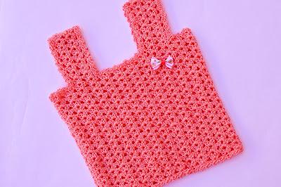 4 - Crochet Camiseta de tirantes a crochet sencilla y fresca por Majovel Crochet
