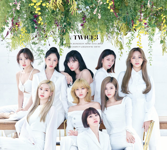 TWICE 3rd Japanese Best Album Pictures