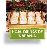 HOJALDRINAS DE NARANJA