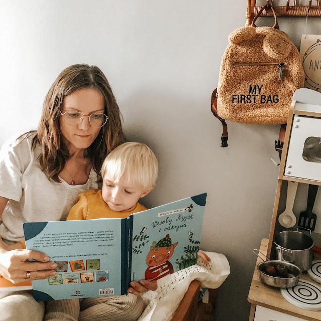 media rodzina książka dla dzieci