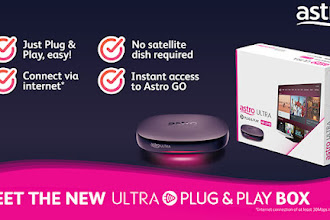 Astro Launches the New Ultra Plug & Play Box – Say Goodbye to Satellite Dish!