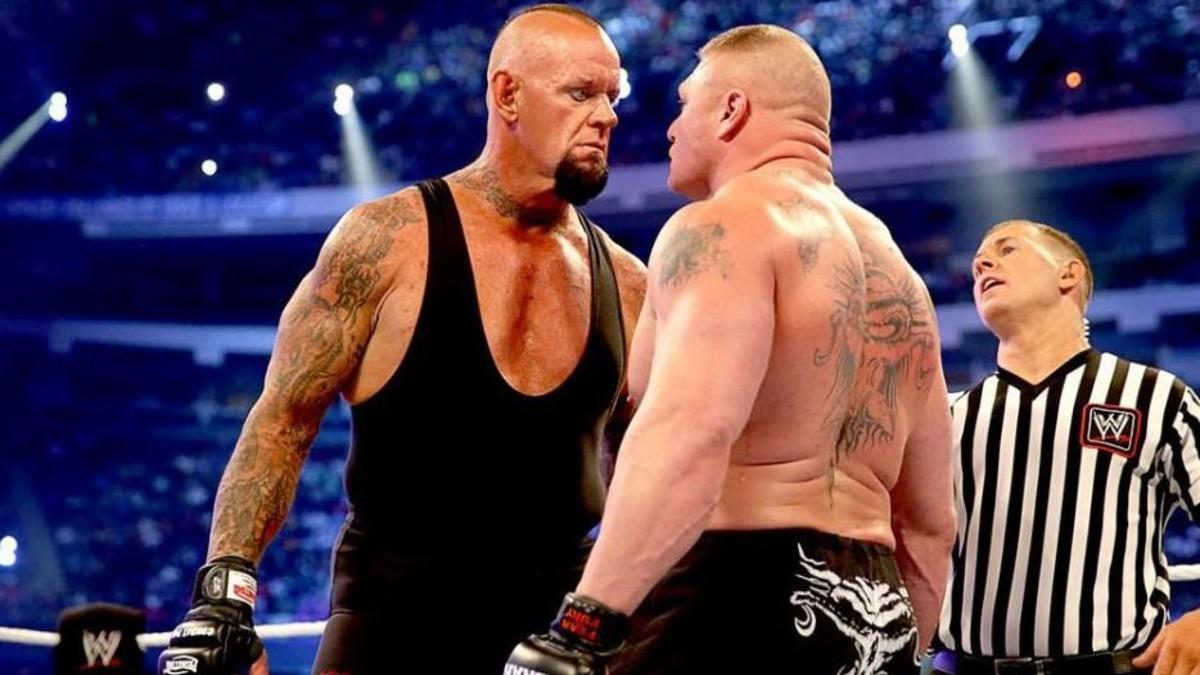 WWE rejeitou ideias para Aleister Black que envolviam Brock Lesnar e Undertaker