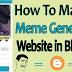 Meme Generator Script For Blogger