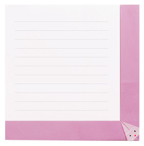 Gấp xếp lá thư hình con thỏ bằng giấy origami