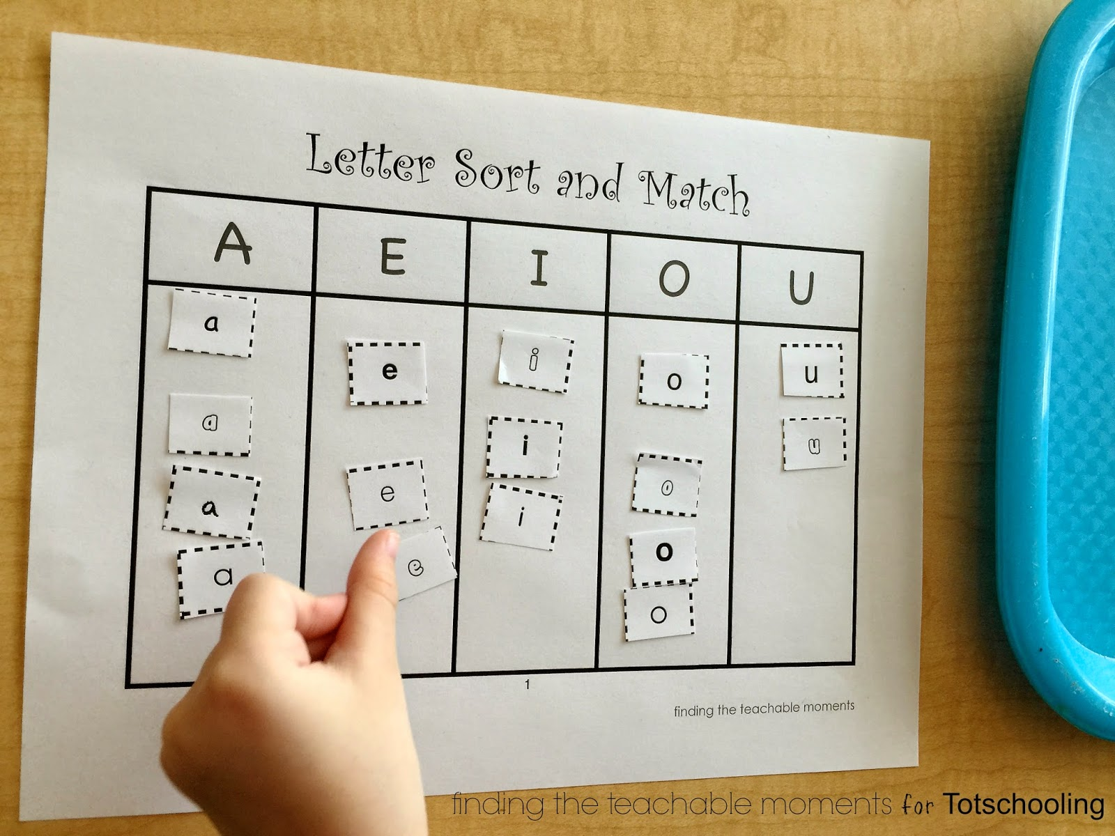 Upper And Lowercase Letter Sort Amp Match Free Printable Totschooling