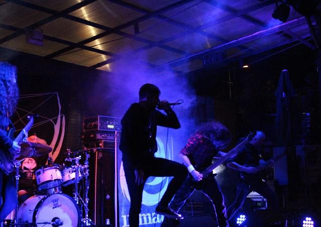 Nastop na festivalu MetalWitch (3. 10.2021, Vič, Ljubljana). Foto: Jan Oblak
