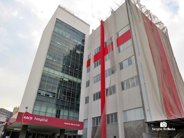 Vista ampla da Unidade Abreu Sodré do Hospital AACD - Ibirapuera - São Paulo