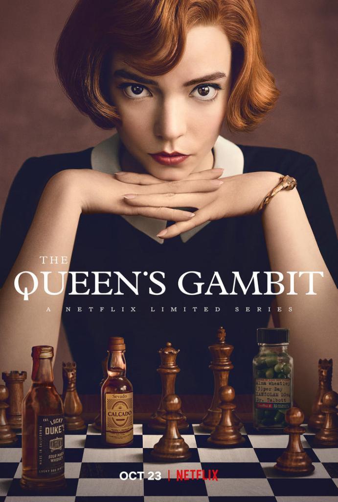 The Queen's Gambit (Gambito de dama) Temporada 1 Dual Subtitulado Latino 720p