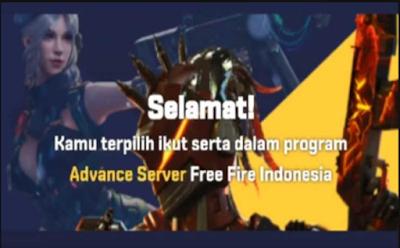 Free Fire advance server, Cara login dan penjelasan detail dari Garena