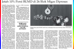 Allotment of 10% BUMD shares in 26 Oil and Gas Blocks Processed