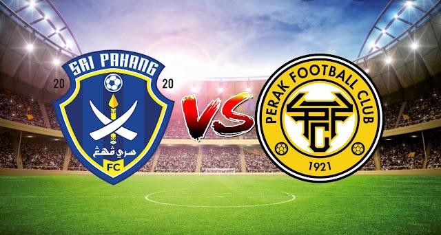 Live Streaming Sri Pahang FC vs Perak FC 10.3.2021 Liga Super