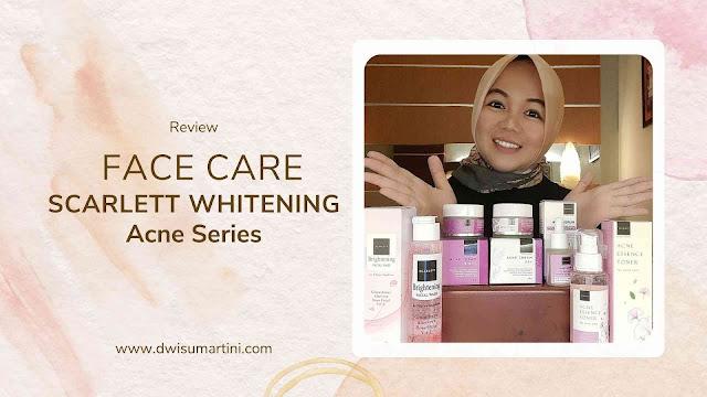 Face Care Scarlett Whitening Acne Series