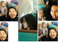 Selfie keluarga ini Jadi Viral Karena Ada Penampakan Raisa Lagi Tidur, Tapi Komentar Netizen Malah Bikin Ngakak