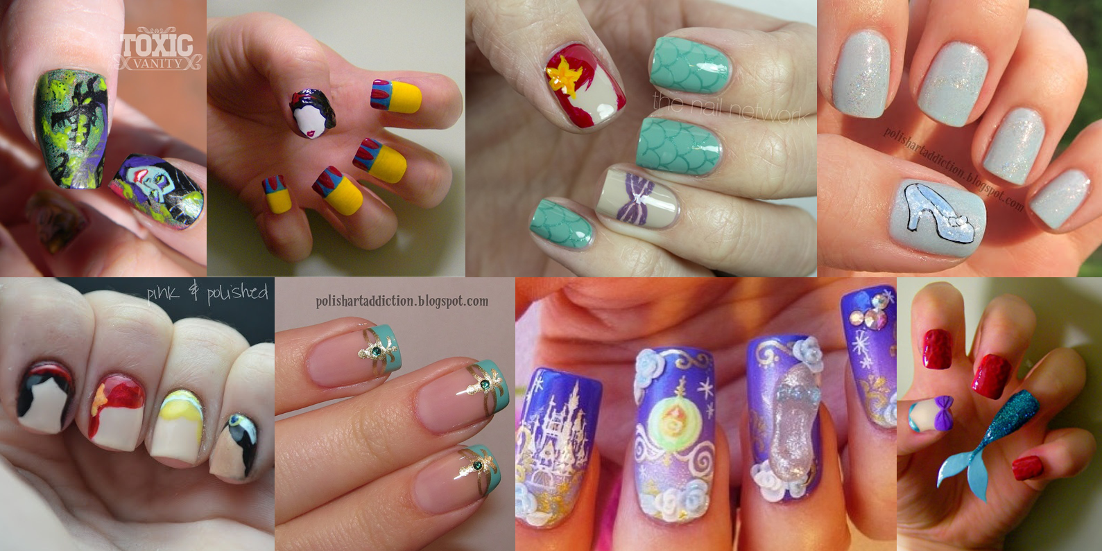{Mad About Nails} Fairy Tale Nail Art