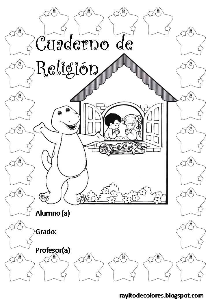 cuaderno de Religión
