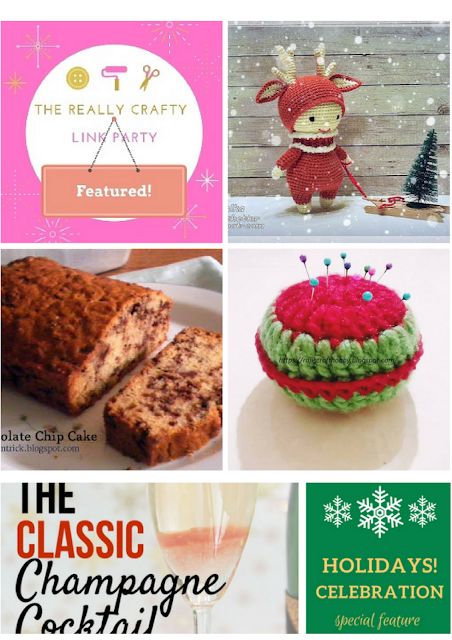 The Really Crafty Link Party #99 featured posts