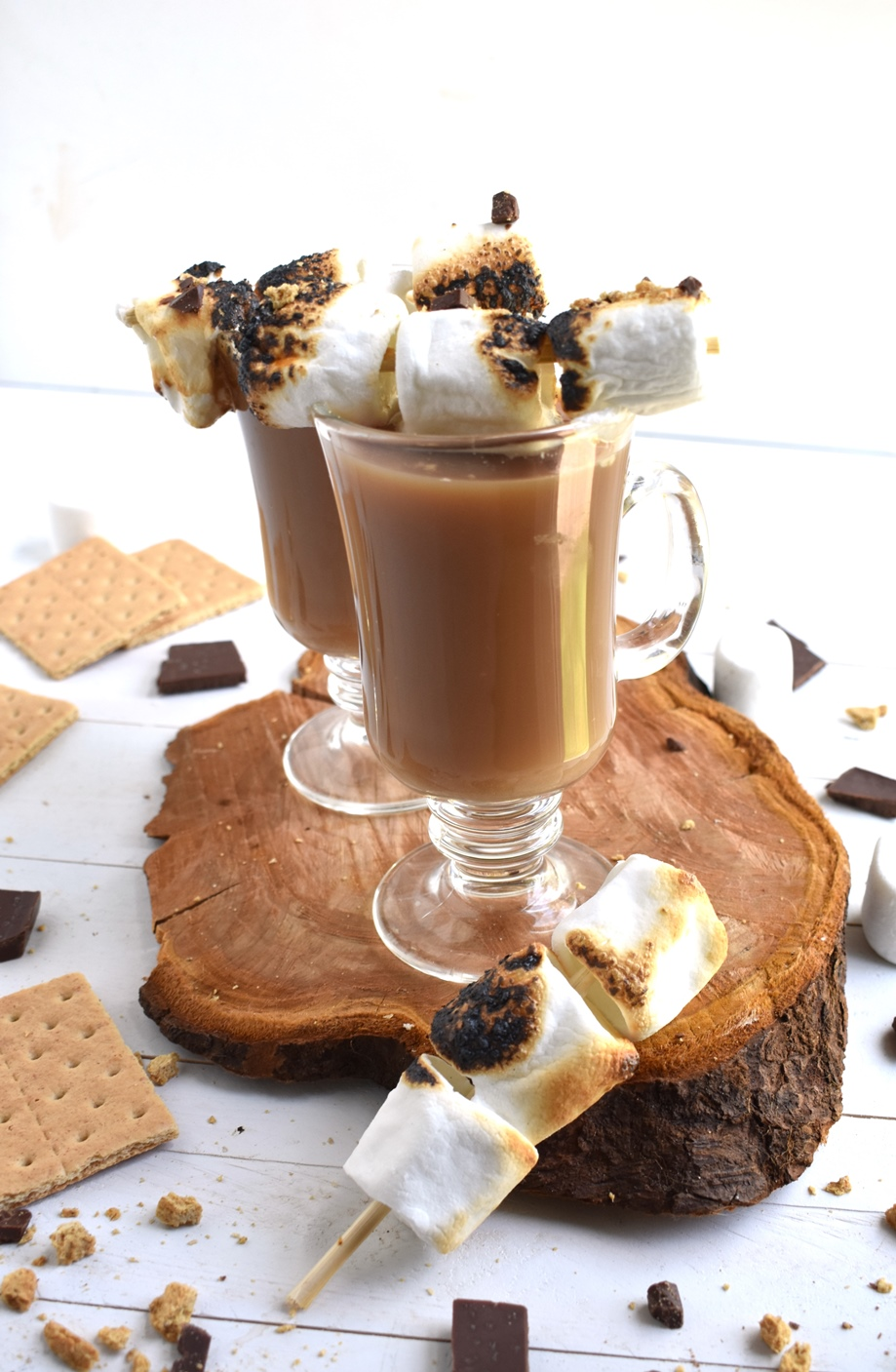 S'mores Toasted Marshmallow Latte