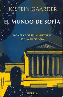 Resultado de imagen para caratula libro El mundo de Sofia