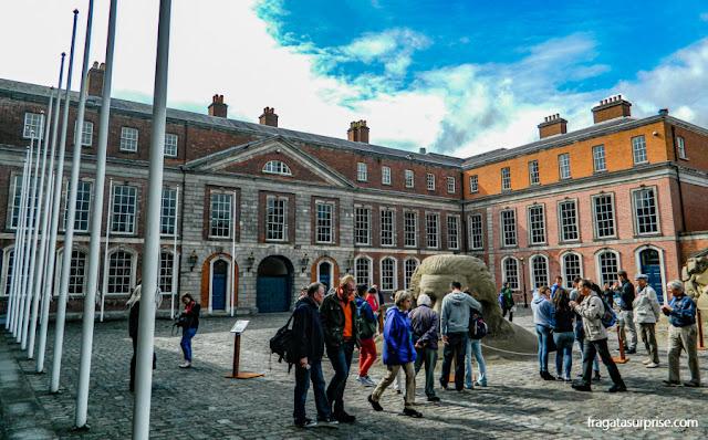 Pátio do Castelo de Dublin