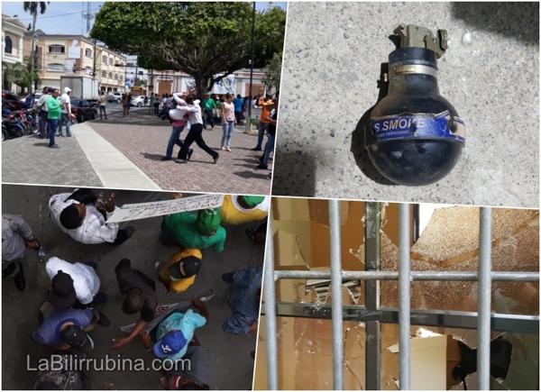 Video: Se armó tremendo rebú en Ayuntamiento de SFM