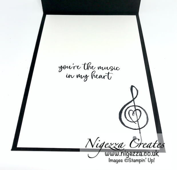 Nigezza Creates with Stampin' Up! & Music From The Heart