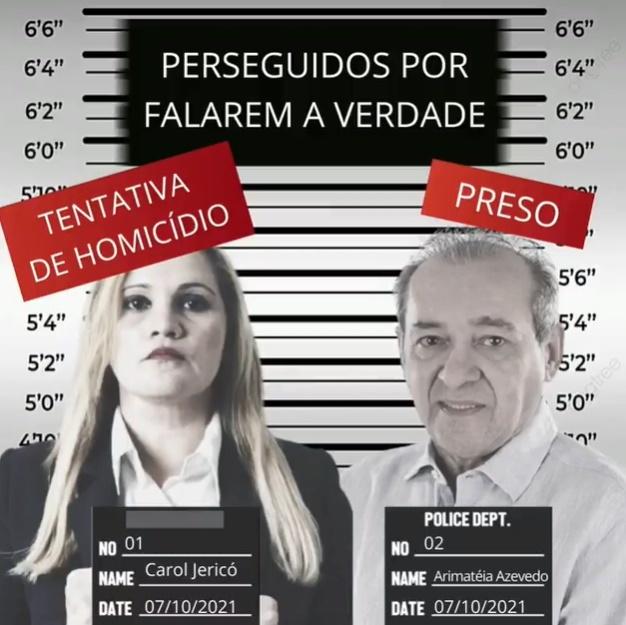 Sindicato dos jornalistas repudia prisão de Arimatéia Azevedo e denuncia ameaça de morte