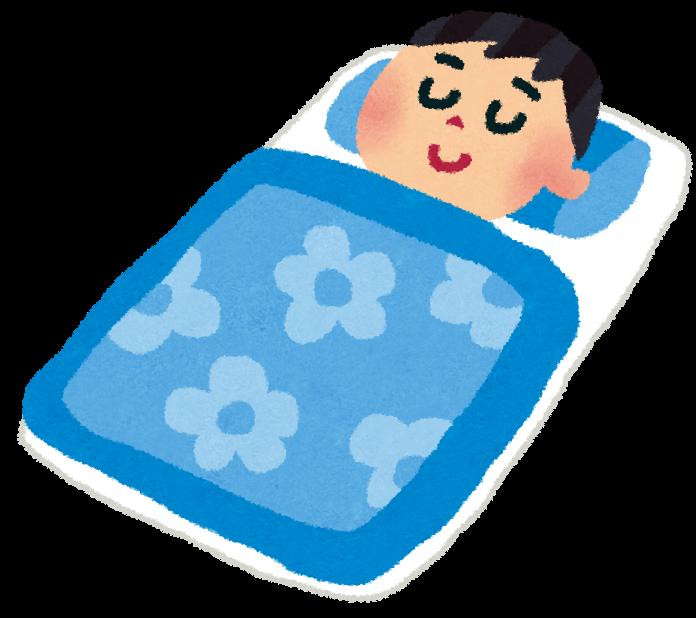 寝ているの男性のイラスト(睡眠) | かわいいフリー素材集 いらすとや