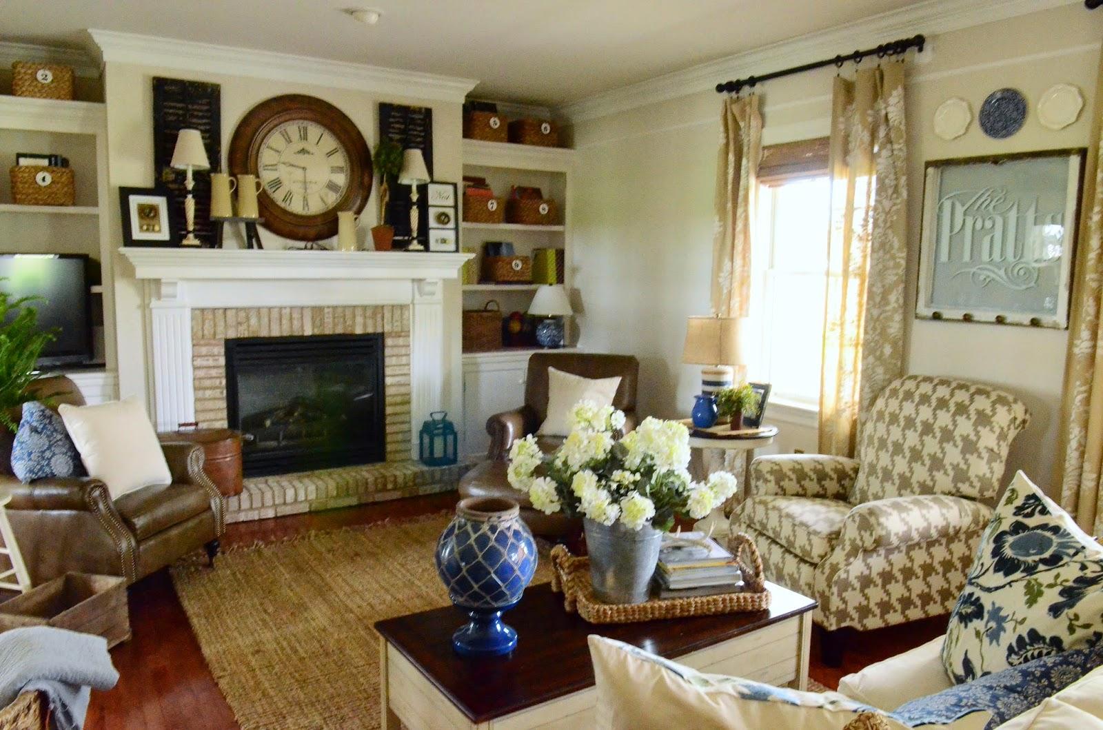 family room chair reveal - stonegable