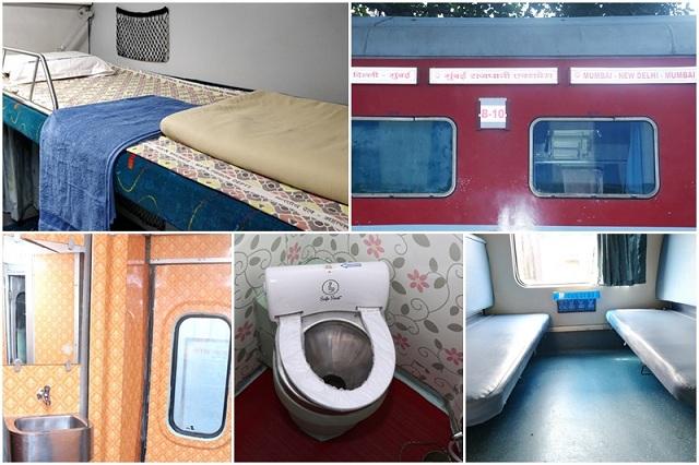 Other improvement in the premium Delhi-Mumbai Rajdhani Train